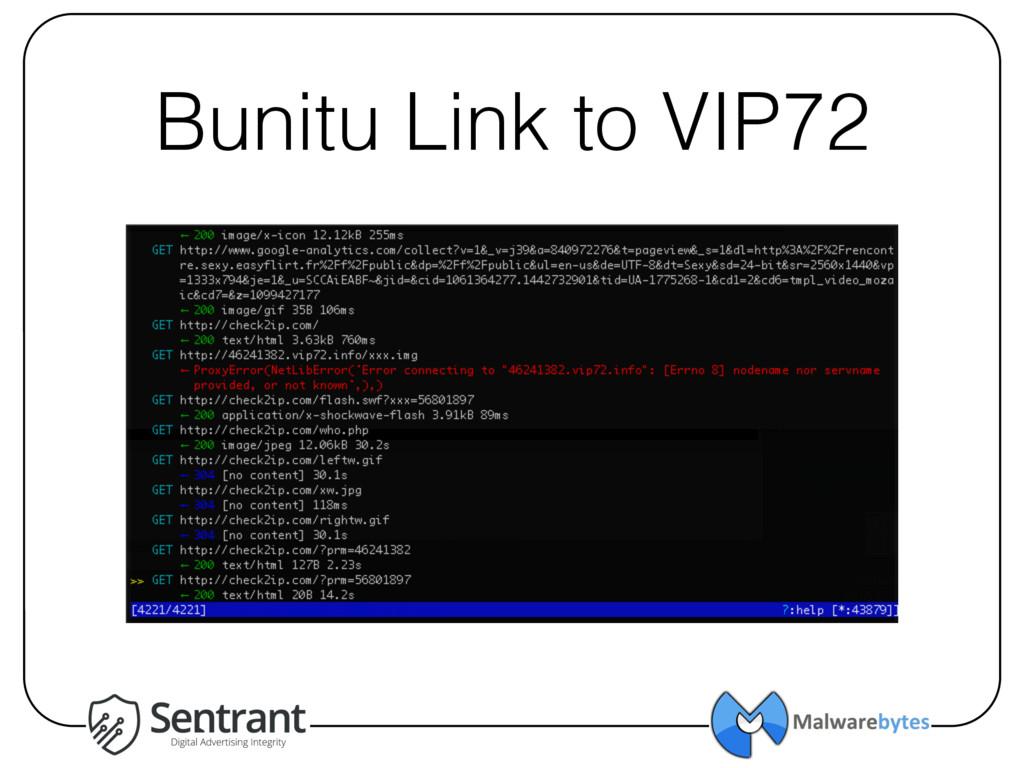 Bunitu Link to VIP72