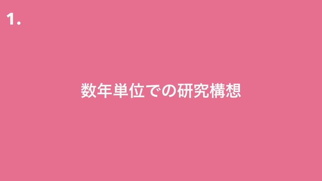 1. ୯ҐͰͷݚڀߏ