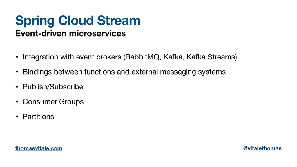 Spring Cloud Stream Event-driven microservices ...