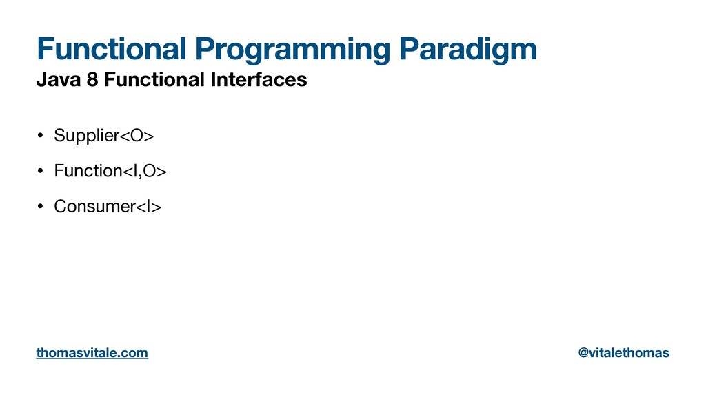 Functional Programming Paradigm Java 8 Function...