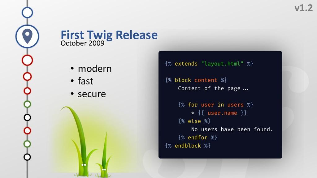 J v1.2 First Twig Release October 2009 H G I F ...