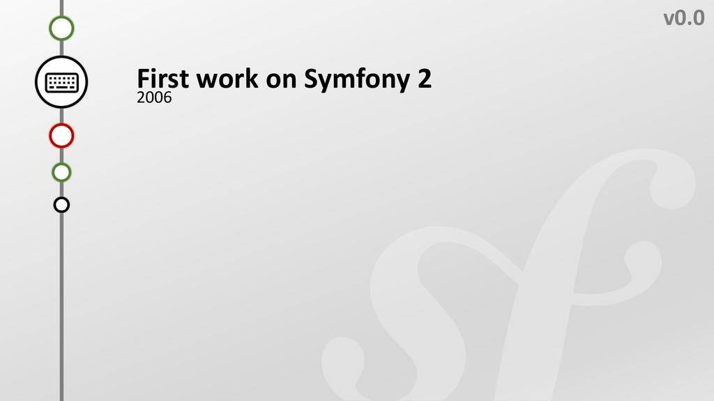 E v0.0 First work on Symfony 2 2006 C B D A