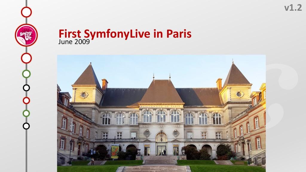 H v1.2 First SymfonyLive in Paris June 2009 F E...