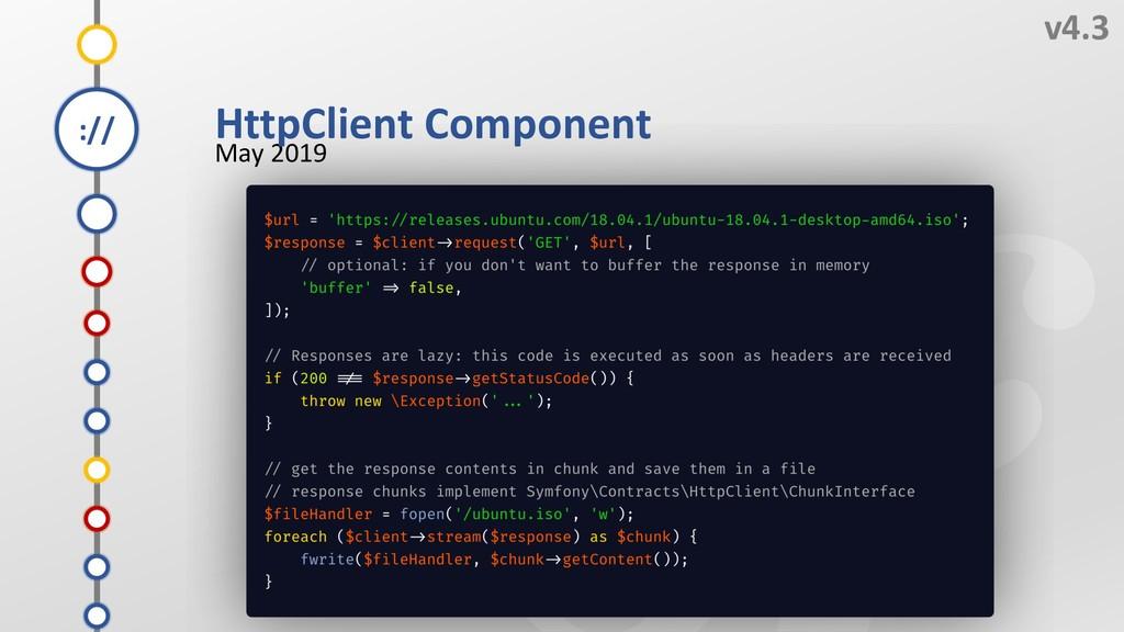 N v4.3 May 2019 L K M HttpClient Component J I ...