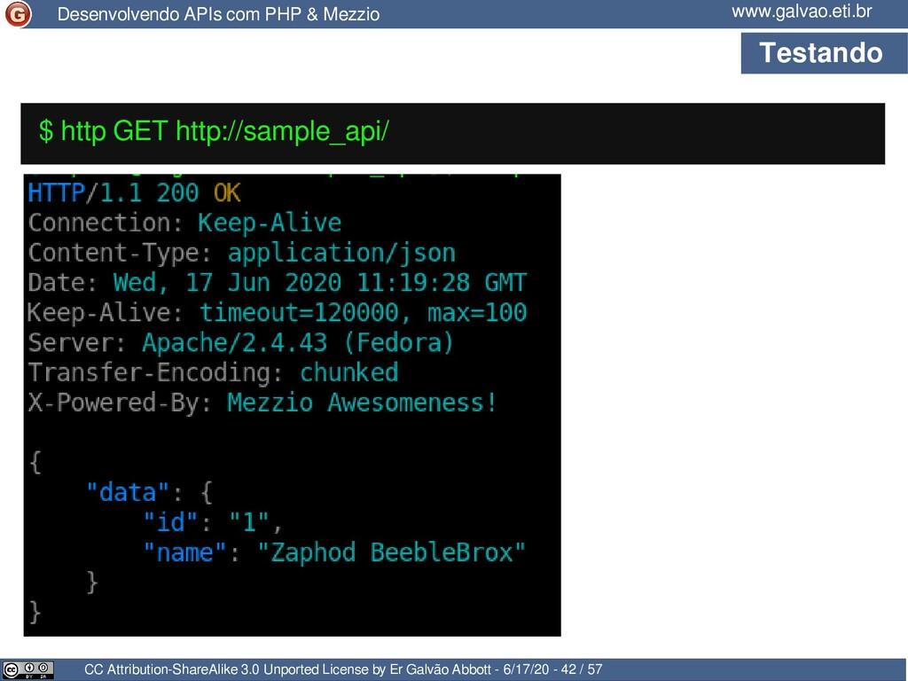 Testando CC Attribution-ShareAlike 3.0 Unported...