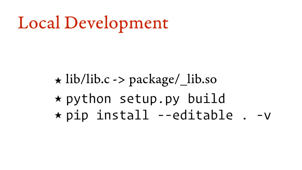 Local Development ★ lib/lib.c -> package/_lib.s...