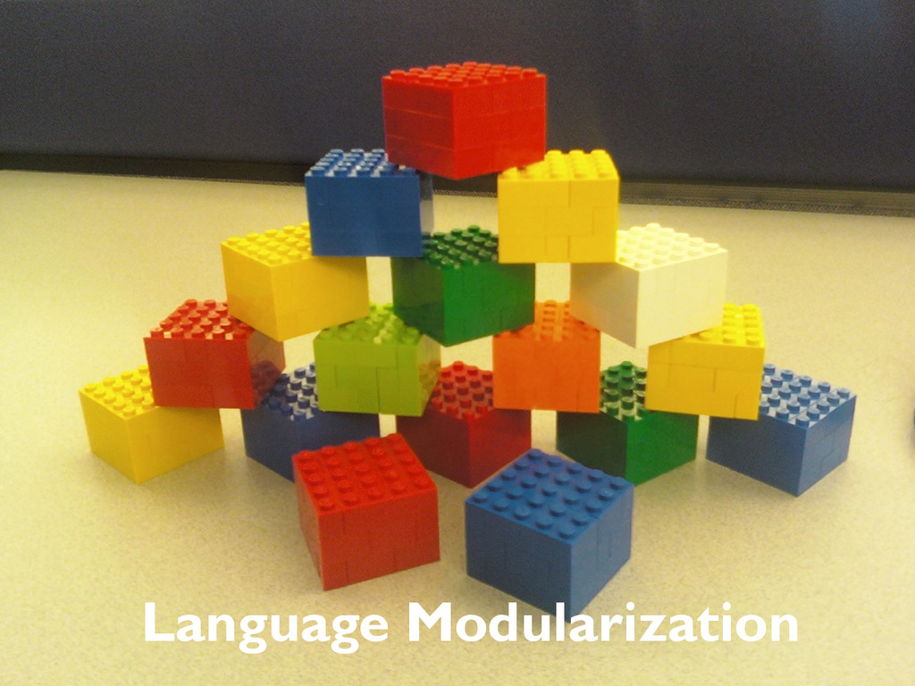 Language Modularization
