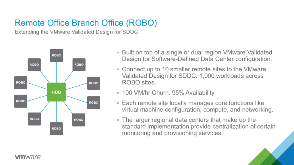 Remote Office Branch Office (ROBO) Extending th...
