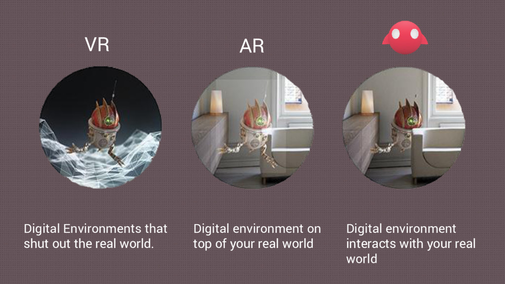 VR AR Digital Environments that shut out the re...