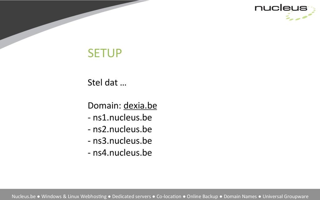 Nucleus.be ● Windows & Linux Web...