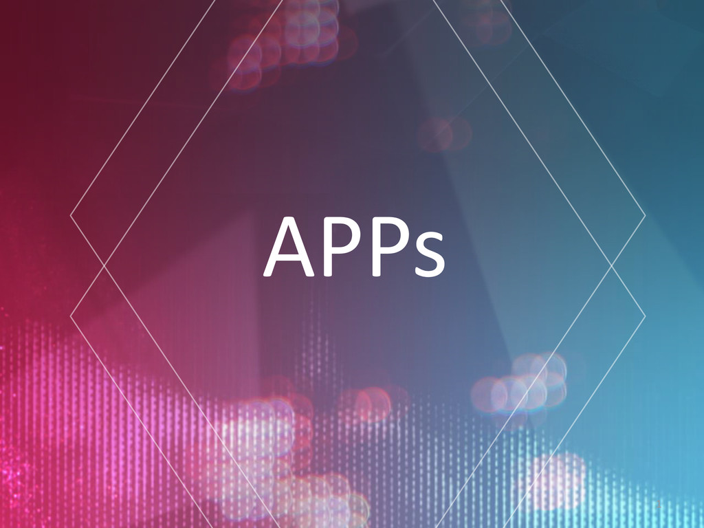 1 APPs