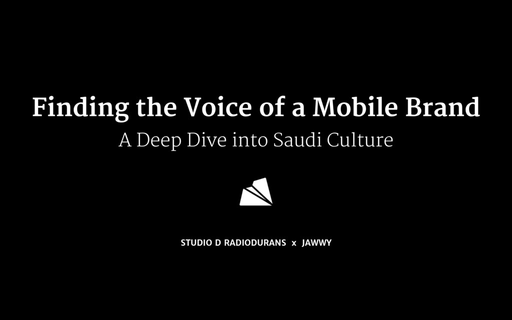 Finding the Voice of a Mobile Brand  A Deep Div...