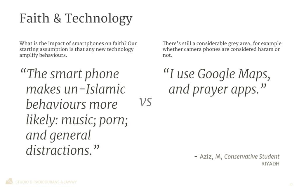Faith & Technology STUDIO D RADIODURANS & JAWWY...