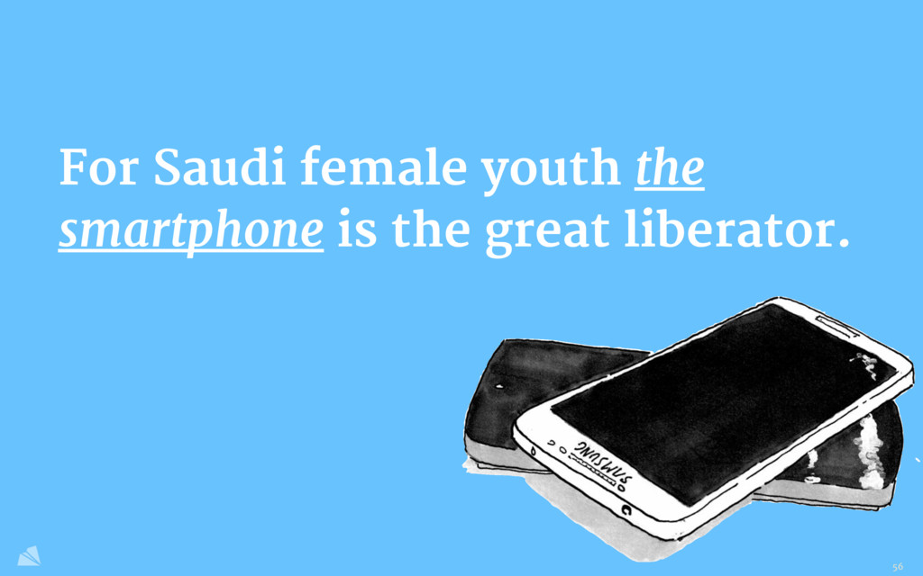 For Saudi female youth the smartphone is the gr...