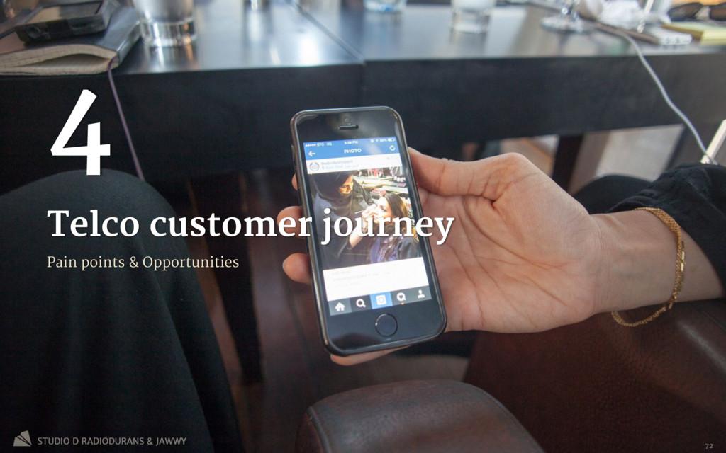 Telco customer journey 4 Pain points & Opportun...