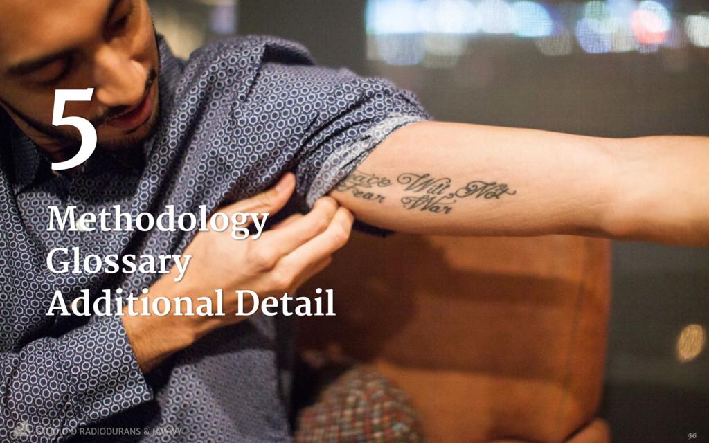 Methodology   Glossary  Additional Detail 5 96 ...