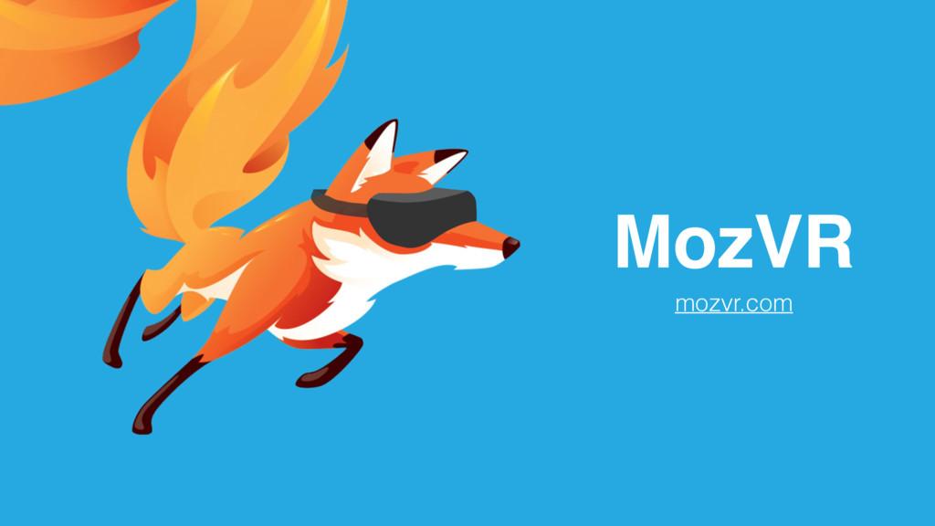 MozVR mozvr.com