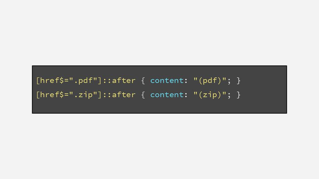 "[href$="".pdf""]::after { content: ""(pdf)""; } [hr..."