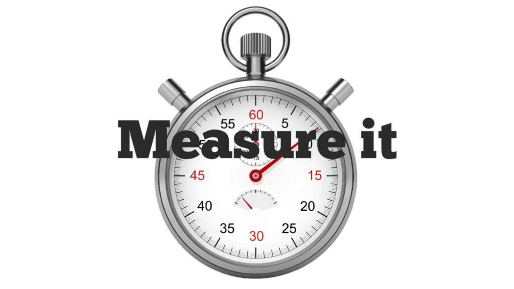 Measure it