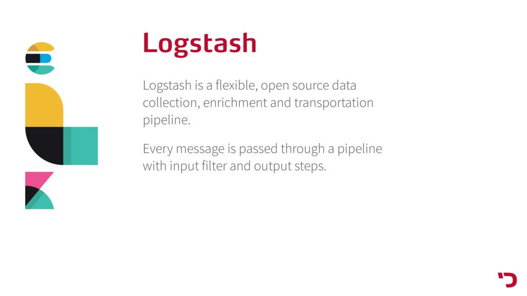 Logstash Logstash is a flexible, open source da...