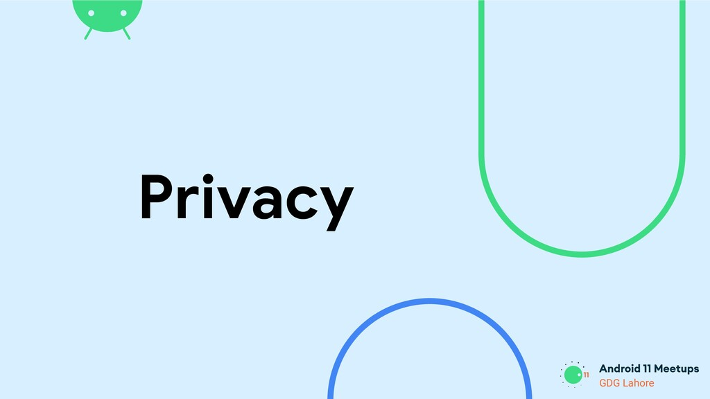GDG Lahore Privacy