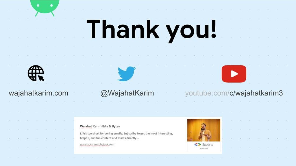 Thank you! @WajahatKarim wajahatkarim.com youtu...