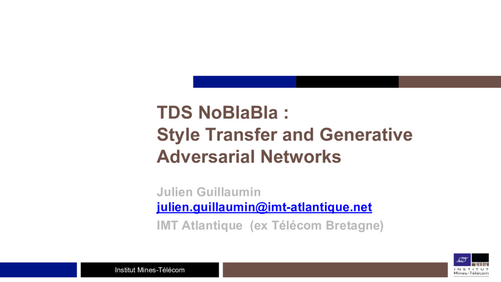Institut Mines-Télécom TDS NoBlaBla : Style Tra...