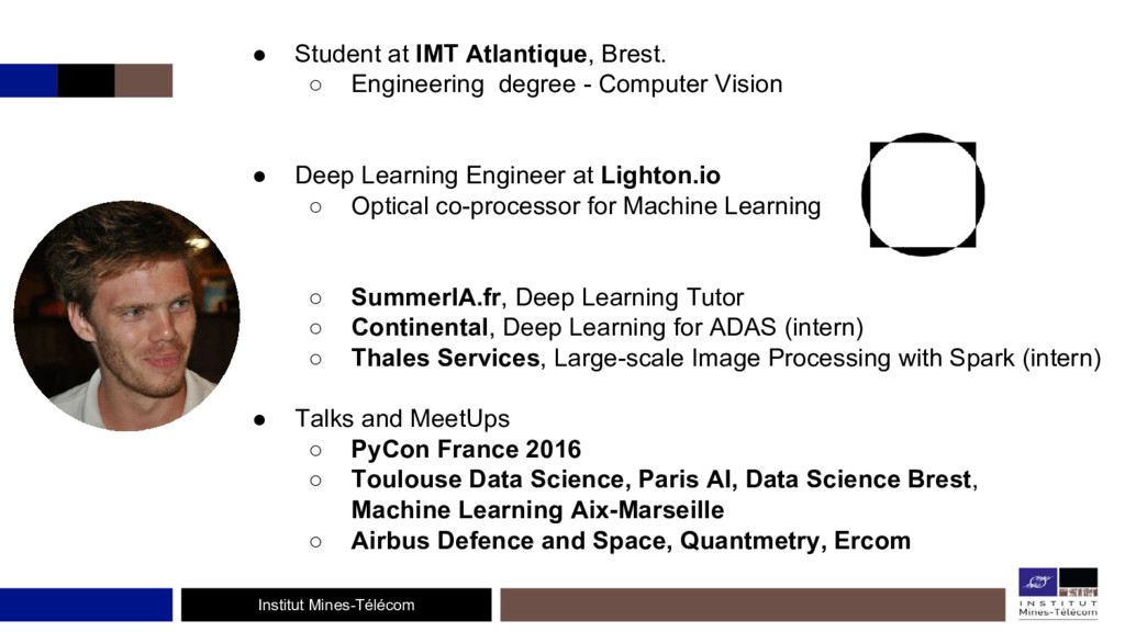 Institut Mines-Télécom ● Student at IMT Atlanti...