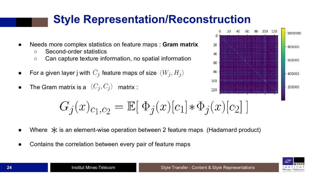 Institut Mines-Télécom Style Representation/Rec...