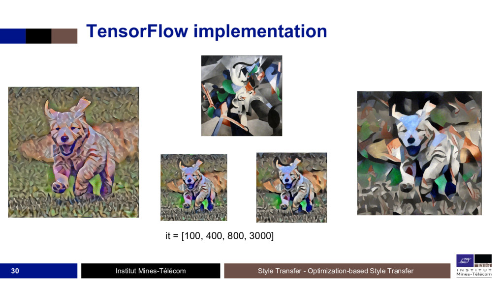 Institut Mines-Télécom TensorFlow implementatio...
