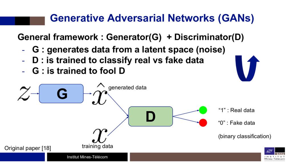 Institut Mines-Télécom Generative Adversarial N...