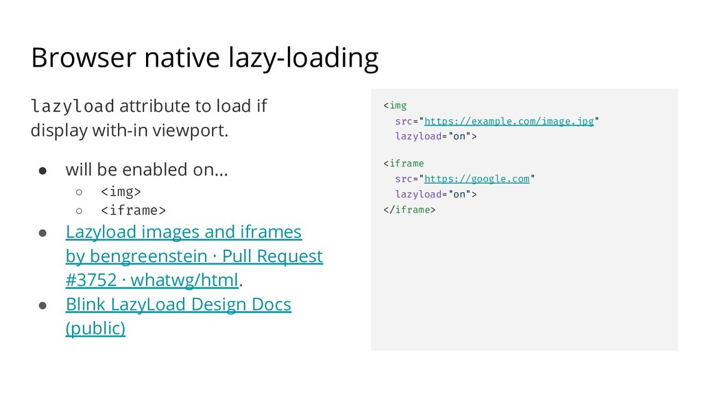 Browser native lazy-loading lazyload attribute ...
