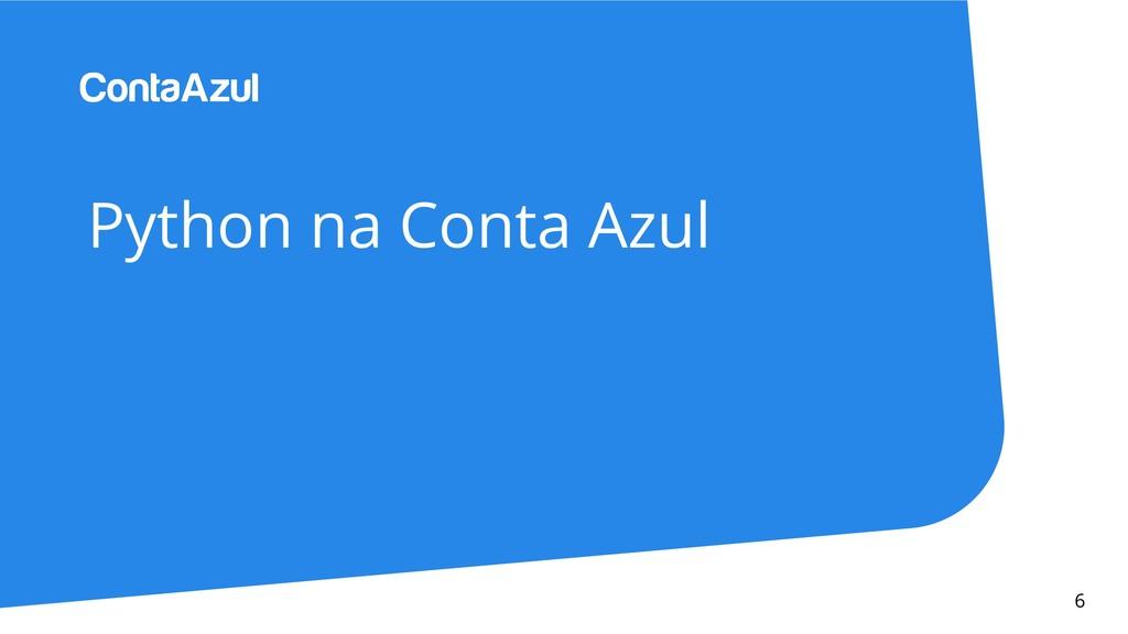Python na Conta Azul 6