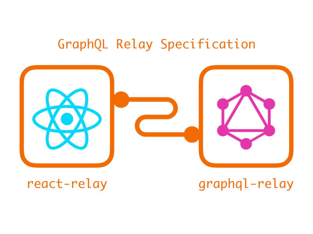 react-relay graphql-relay GraphQL Relay Specifi...