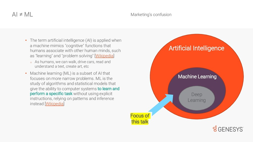 • The term artificial intelligence (AI) is appl...