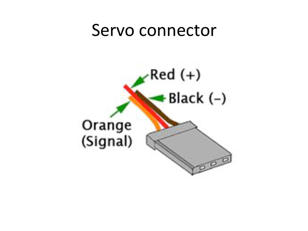 Servo)connector)