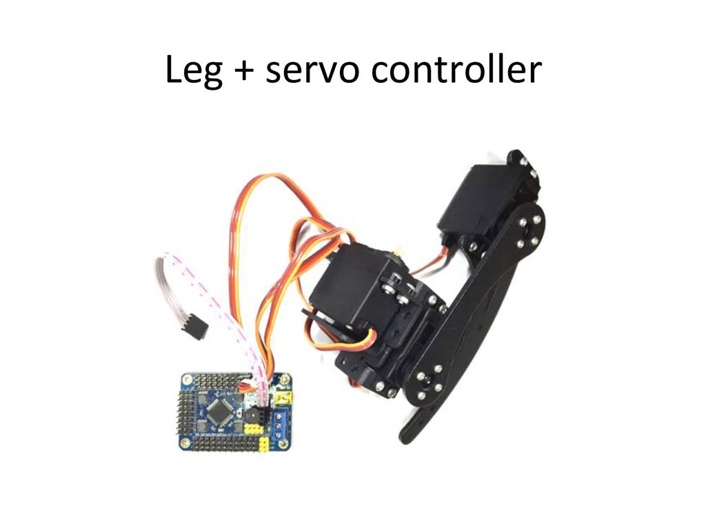Leg)+)servo)controller)