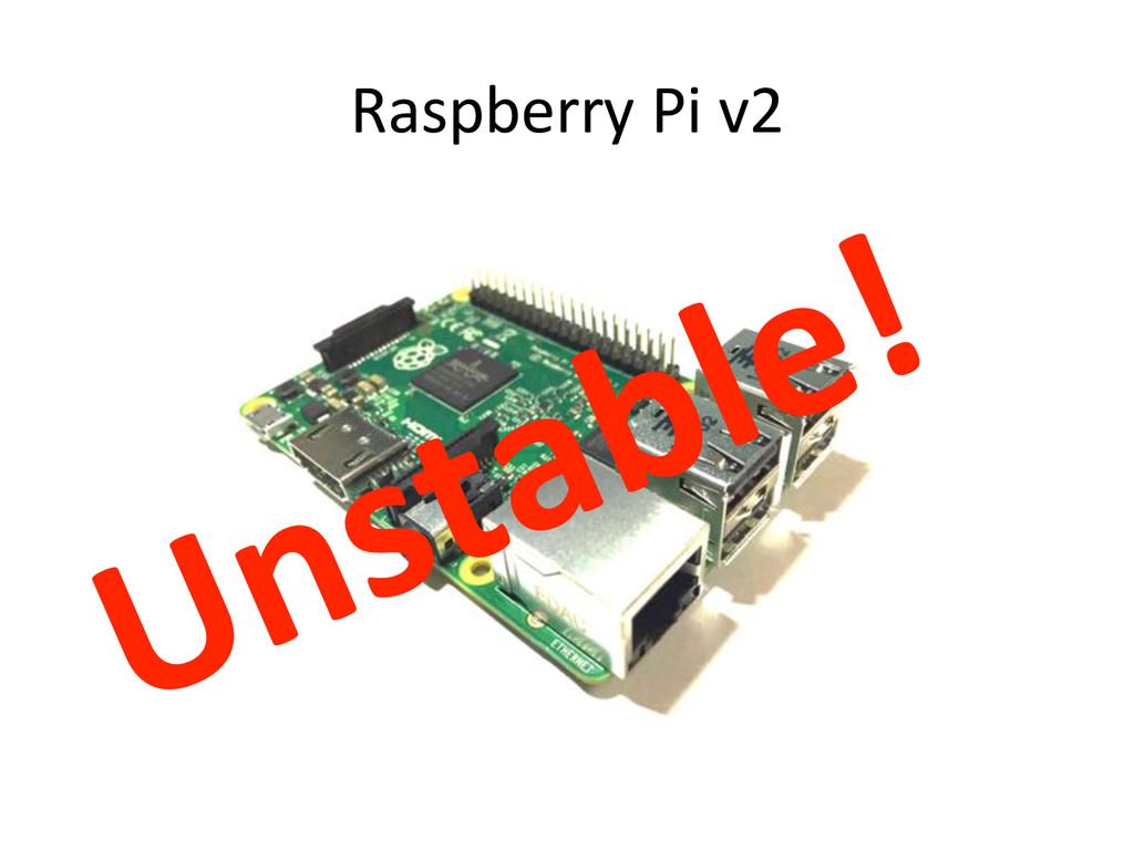 Raspberry)Pi)v2)