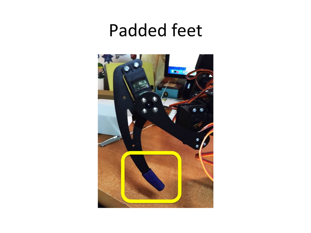 Padded)feet)