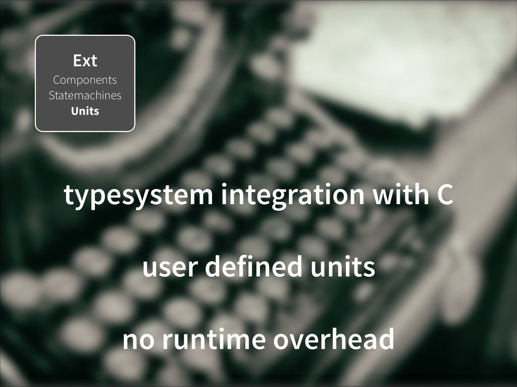 Ext Components Statemachines Units typesystem i...