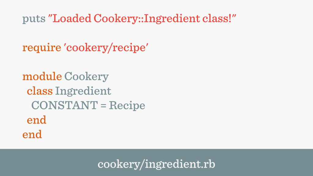 "puts ""Loaded Cookery::Ingredient class!"" requir..."