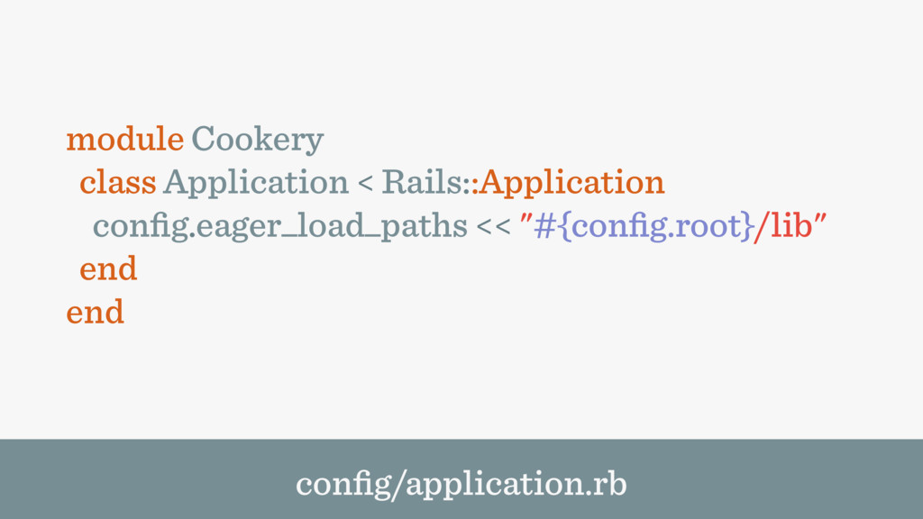 module Cookery class Application < Rails::Appli...