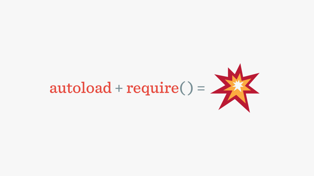 autoload + require( ) =