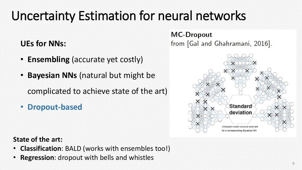 Uncertainty Estimation for neural networks Stat...
