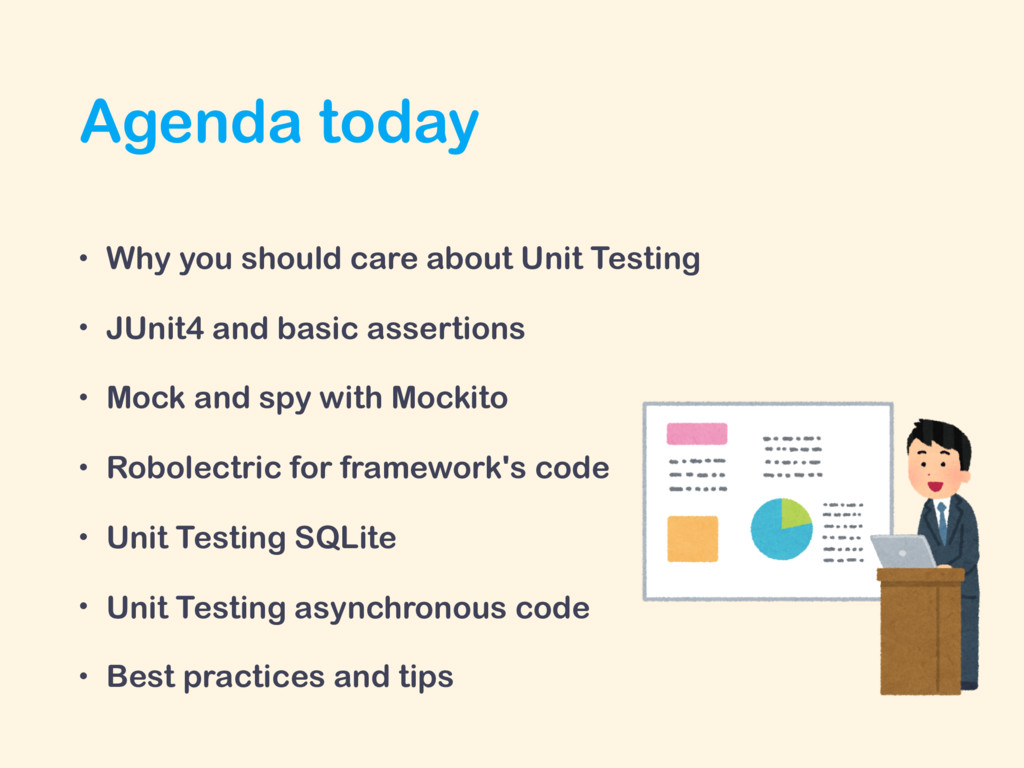 Agenda today • Why you should care about Unit T...