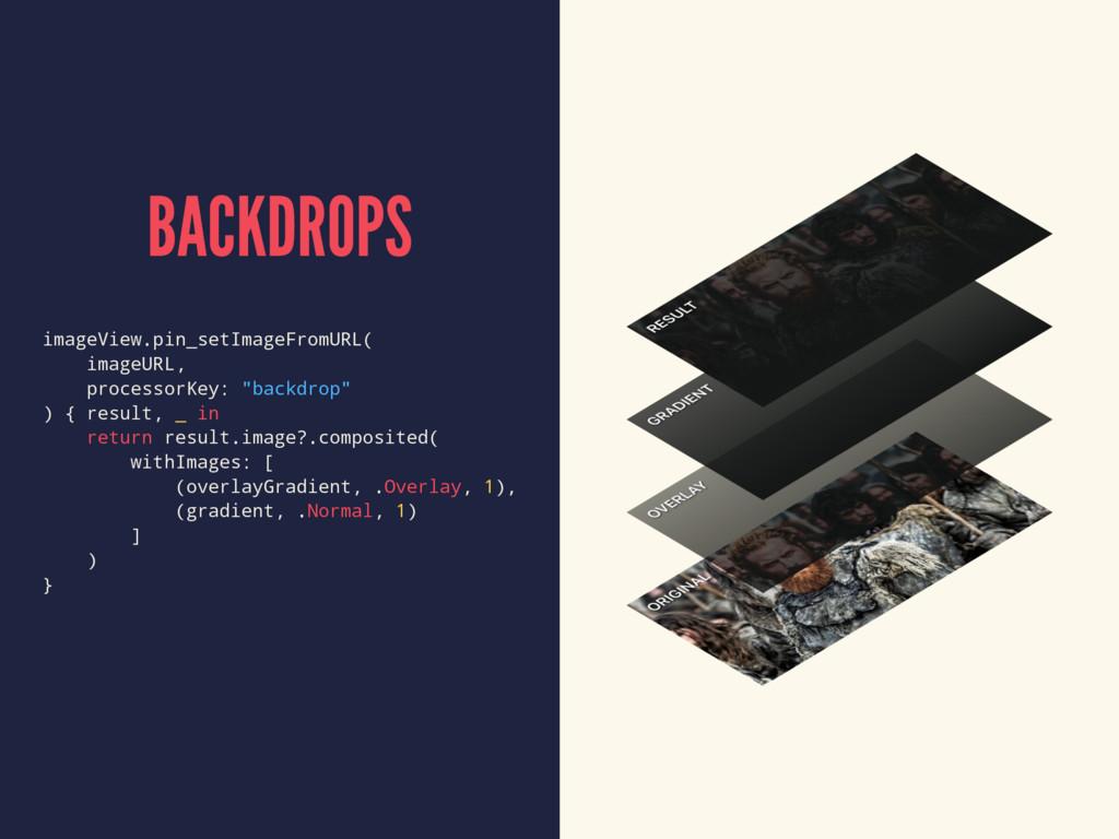 BACKDROPS imageView.pin_setImageFromURL( imageU...
