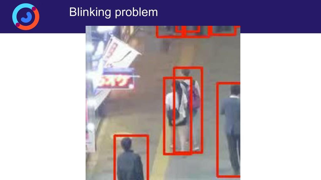 Blinking problem