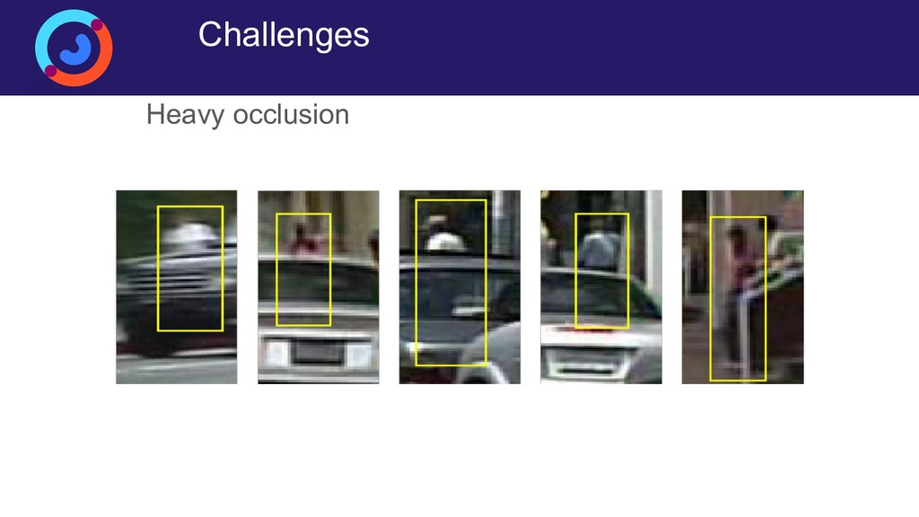 Challenges Heavy occlusion
