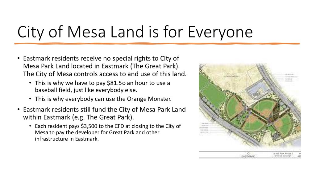 City of Mesa Land is for Everyone • Eastmark re...