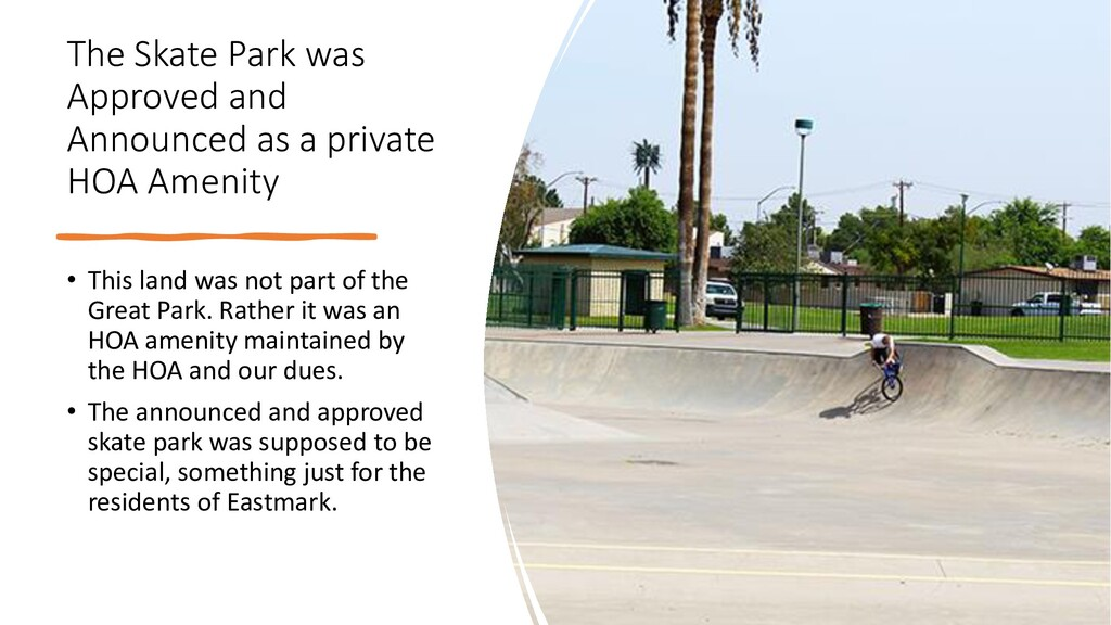 The Skate Park was Approved and Announced as a ...